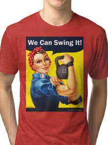 We Can Swing It! Tri-blend T-Shirt
