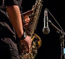 jazz saxophone by konstantinosk
