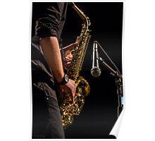 jazz saxophone Poster