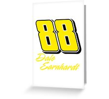 Dale Earnhardt Jr. 88 Greeting Card