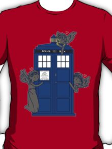 The Angels Have The TARDIS T-Shirt