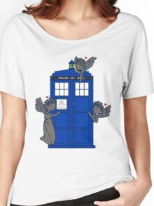The Angels Have The TARDIS Women's Relaxed Fit T-Shirt