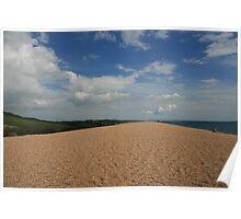 Chesil Beach in Summer Poster