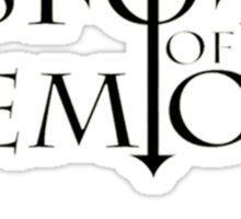 Visions Of Demons Logo Tee Sticker