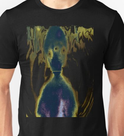 Alien Space Ghost from outer space Unisex T-Shirt