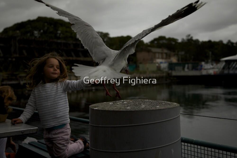 Little angel by Geoffrey Fighiera