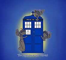 The Angels Have The TARDIS (case) by hellyhere