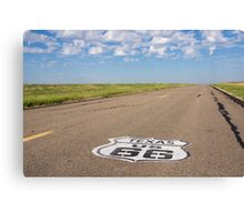 Route 66 road  Canvas Print