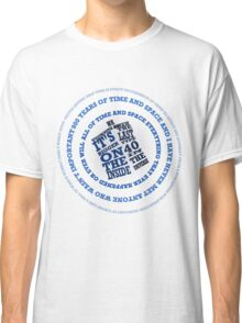 TARDIS in the Time Vortex Classic T-Shirt