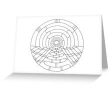 Music Hall Color-Your-Own Card Greeting Card