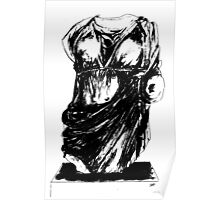 Statue - Drapery Poster