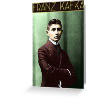 Franz Kafka (Colorized) Greeting Card