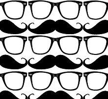 iGlasses & Moustache  by Tim  Swain