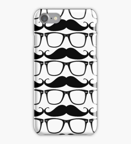 iGlasses & Moustache  iPhone Case/Skin