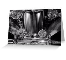 1953 MG TD Greeting Card