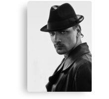 The man with the hat Canvas Print