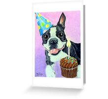 Birthday Boston Greeting Card