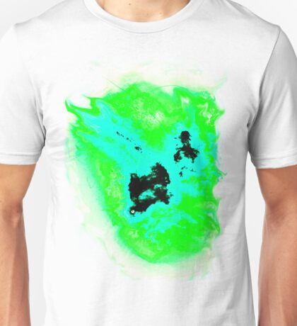 Teal and green phoenix Unisex T-Shirt