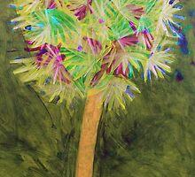 Dandelion Palm by fluffylarueable