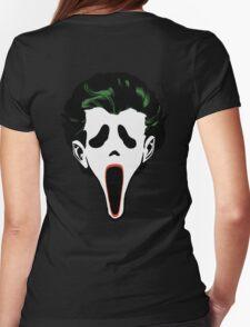 Ghostface Joker Womens Fitted T-Shirt