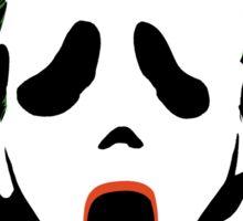 Ghostface Joker Sticker
