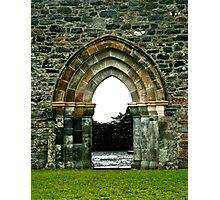 Ruins at Clonmacnoise, Ireland Photographic Print