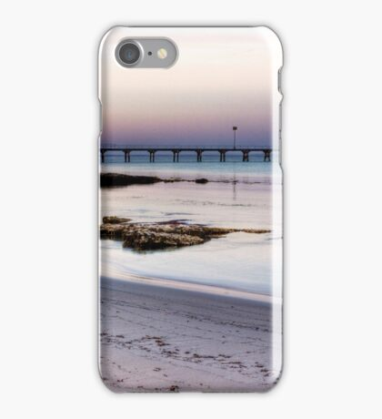 Robe at sunset, South Australia iPhone Case/Skin