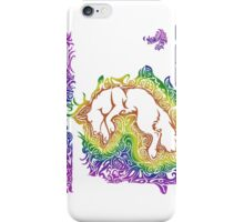 Coyote Dream (White) iPhone Case/Skin