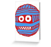 RED/BLUE MUM LOGO Greeting Card