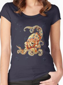 Blue-ringed Octo Women's Fitted Scoop T-Shirt