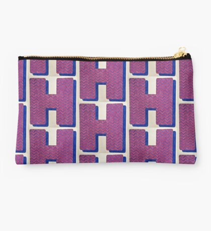 Letters of the alphabet  H Studio Pouch