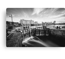 Grand Canal Dock, Dublin, Ireland Canvas Print