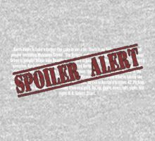 Spoiler Alert! by Ebeelily