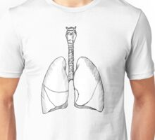 Between Two Lungs - No Ink Version Unisex T-Shirt