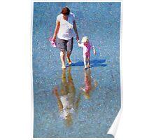 Walking on Water Poster