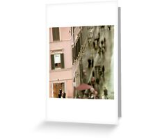 Rome Photograph Dior Boutique Greeting Card