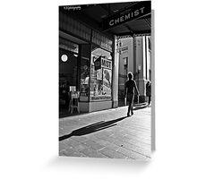 long shadows Greeting Card