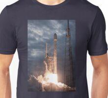 SpaceX Rocket Launch Unisex T-Shirt