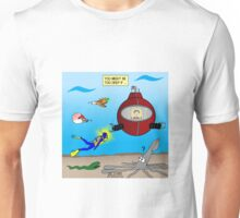 SCUBA Diving Too Deep Unisex T-Shirt