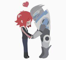 Mass Effect - Shakarian [Shirts, Prints, & Sticker] by chocominto