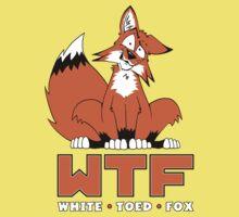 WTF - White Toed Fox by JasonFifer