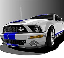 Mustang Cobra by Paul Dunkel