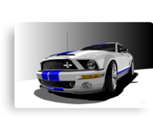 Mustang Cobra Canvas Print