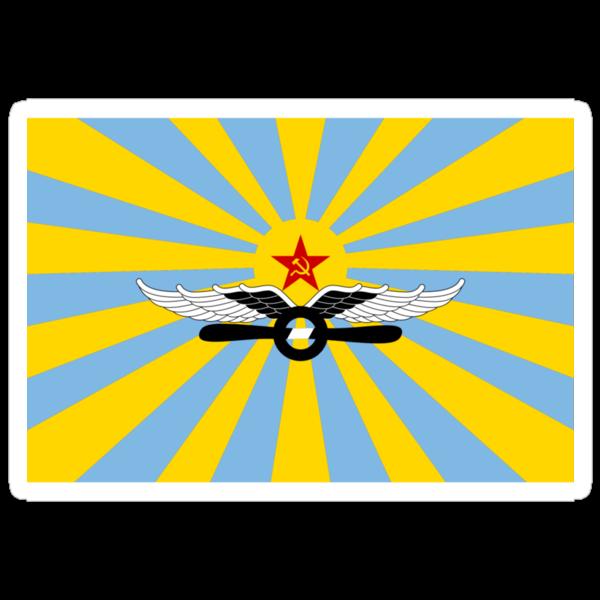 Flag of the Soviet Air Force by dvazhdydva
