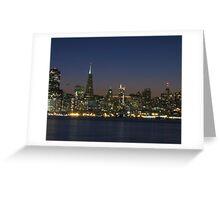 San Francisco Nights Greeting Card