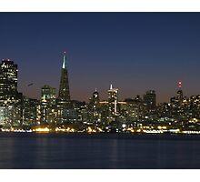 San Francisco Nights Photographic Print
