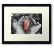 ✾◕‿◕✾ THESE LITTLE PIGGIES DIDN'T GO 2 THE MARKET ..THESE LITTLE PIGGIES I HELD✾◕‿◕✾CAUTION U JUST MIGHT LAUGH Framed Print