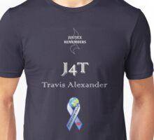 J4T with White Lettering & Smaller JR Logo Unisex T-Shirt