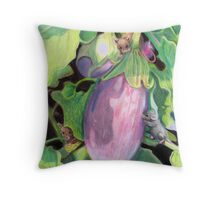 Garden Interlopers Throw Pillow