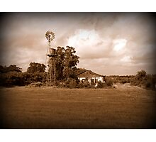 one of my favorite places....in sepia Photographic Print